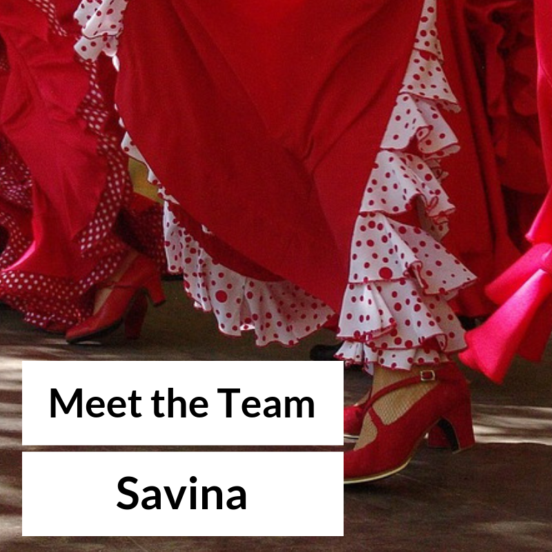 Meet the team – Savina
